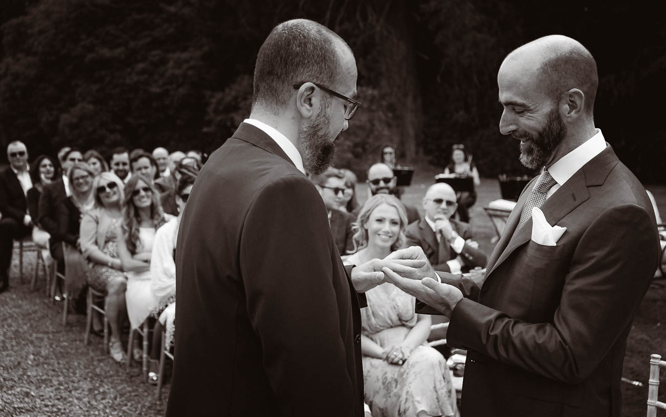Gay Wedding Marlfield House Wexford | Holst Photography Ireland